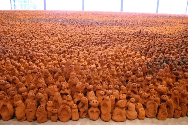 Antony Gormley's Field