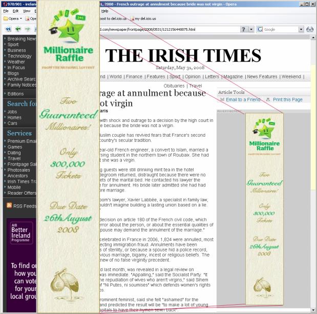 Irish Times Banner Ad